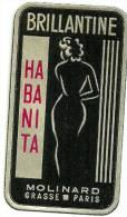 Etiquette Parfum Réf.046. Brillantine - Habanita - Molinard - Grasse, Paris - Etiquettes