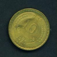 CHILE - 1970 10c Circ. - Chile