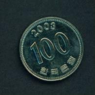 SOUTH KOREA -  2003 100w Circ. - Korea, South