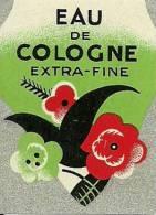 Etiquette Parfum Réf.053. Eau De Cologne Extra-fine - Etiketten