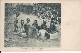 CONGO - BRAZZAVILLE - Jeux D'enfants - Brazzaville