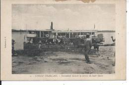 CONGO FRANCAIS - Sternnbeel Faisant Le Service Du Haut-fleuve - Congo Français - Autres