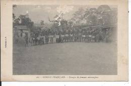 CONGO FRANCAIS - Groupe De Femmes Missangbas - Congo Français - Autres