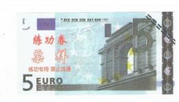 BILLET DE 5 EURO EUROPE - Specimen
