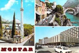 """(Bosnie-Herzégovine) MOSTAR (Timbre Stamp """"JUGOSLAVIJA"""" (Yougoslavie)(Editions :turistkomerc Zagreb N°4S-262)*PRIX FIXE - Bosnie-Herzegovine"""