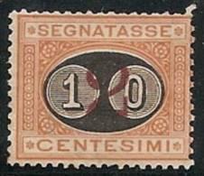 ITALIA 1890/91 - Yvert #22 - Mint No Gum (*) (Taxas) - 1861-78 Victor Emmanuel II.