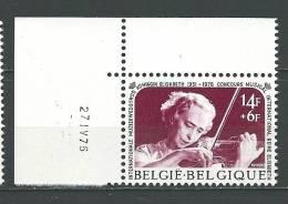 Zegel 1804 ** Postfris Met Drukdatum - Hoekdatums