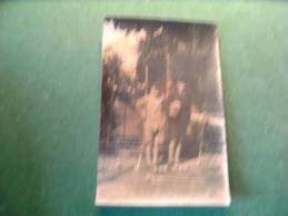 BC4-2-85 Carte Photo Jeunes Gens Jouent Au Croquet Jeu - Cartes Postales