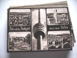 Duitsland Deutschland Allemagne Germany BW Stuttgart Mit Turm Zentral - Stuttgart