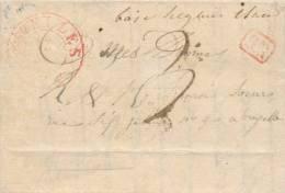 Lettre Précurseur De BOIS SEIGNEUR ISAAC Manuscrit Par NIVELLES 1836 Vers BXL - Origine ITTRE  --  UU025 - 1830-1849 (Belgique Indépendante)