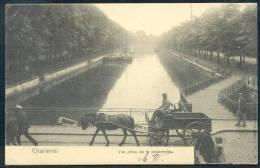 Charleroi Vue Prise De La Passerelle (Nels Serie 5 Anno 1900) - Attelage - Charleroi