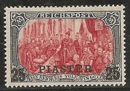 ALEMANIA 1900/03 (LEVANTE) - Yvert #22a - MLH * - Bureau: Turquie
