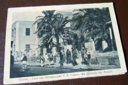 GUERRA ITALO-TURCA LIBIA  FOTO EX LIBRO 1911 -1912 - TRIPOLI SEDE DEL GOVERNAT - War, Military