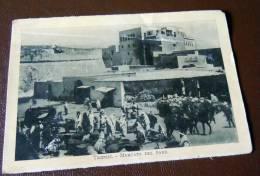 GUERRA ITALO-TURCA LIBIA  FOTO EX LIBRO 1911 -12- TRIPOLI MERCATO DEL PANE - Oorlog, Militair
