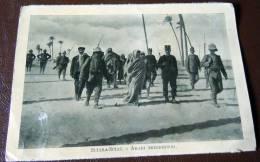 GUERRA ITALO-TURCA LIBIA  FOTO EX LIBRO 1911 -12-SCIRA-SCIAT ARABI PRIGIONIERI - Oorlog, Militair
