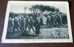 GUERRA ITALO-TURCA LIBIA  FOTO EX LIBRO 1911 -12-TRIPOLI COMPAGNIE IN ESPLORAZIONE - Oorlog, Militair