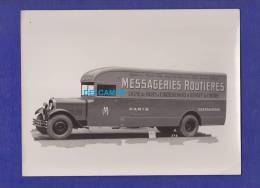 - Photo Ancienne - CHATEAUROUX - Messageries Routieres - Camion à Identifier - Argenton Levroux Villedieu Buzançais - Camions
