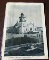 GUERRA ITALO-TURCA LIBIA  FOTO EX LIBRO 1911 -12- TRIPOLI CHIESA PARROCHIALE FRANCESCANA - Oorlog, Militair