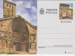 SPAGNA  -  Terjeta Postal  -  IGLESIA  DE  SAN  BARTOLOME  A  LOGRONO  -  CAMINO DE SANTIAGO COMPOSTELA - Stamped Stationery