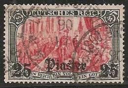 ALEMANIA 1905 (LEVANTE) - Yvert #40 - VFU - Ufficio: Turchia