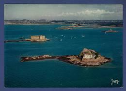 29 PLOUEZOC'H Baie De Morlaix, Le Château Du Taureau, Au Premier Plan, L´Ile Louet - Autres Communes