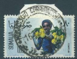 SOMALIE - 1961 -  USED/OBLIT. PAMPLEMOUSSE GRAPEFRUIT S/ FRAGMENT Mi 23 Yv 16-  Lot 7841 - Somalie (1960-...)