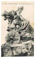 Lyon : Fontaine Bartholdi, Le Char De La LMiberté - Lyon