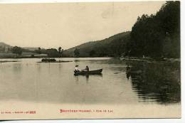 Bruyéres  En Barque Dsur Le Lac  Animation - Bruyeres