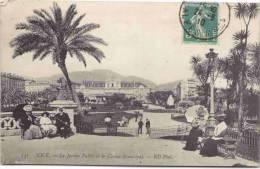 NICE - Le Jardin Public Et Le Casino Municipal - Nizza