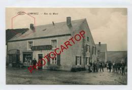 LOMPREZ-Cafe-AD.DELHAIZE-Rue Du Mont-Animation-Commerce-Periode GUERRE 14-18-1WK-BELGIEN-BELGIQUE-Feldpost- - Wellin