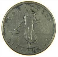 US PHILIPPINES One Peso 1908 S - Silver - Filippine