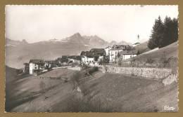 BELLE C.P.S.M. - PEISEY-NANCROIX (Savoie) - 10 - Entrée De Peisey - Altri Comuni