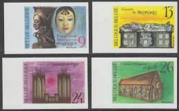 """2298/2301  ONGETAND  """"Cultureel Patrimonium""""  Cote 40,00 Euro - No Dentado"""