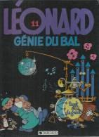 "LEONARD  "" GENIE DU BAL ""  -  TURK / DEGROOT - E.O.  MARS 1984  DARGAUD - Léonard"