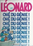 "LEONARD  "" OHE DU GENIE ! ""  -  TURK / DE GROOT - E.O.  MARS 1989  DARGAUD - Léonard"