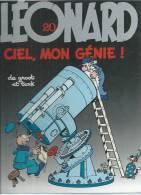 "LEONARD  "" CIEL, MON GENIE ! ""  -  TURK / DE GROOT - E.O.  MAI 1991  APPRO - Léonard"
