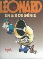 "LEONARD  "" UN AIR DE GENIE ""  -  TURK / DE GROOT - E.O.  MAI 1992  APPRO - Léonard"