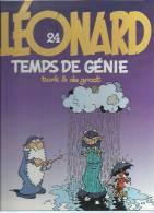 "LEONARD  "" TEMPS DE GENIE  ""  -  TURK / DE GROOT - E.O.  AOUT 1994  APPRO - Léonard"