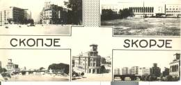 MAC001 - Skopje - Aspekt De Skopje Avant De 26.VII 1963 - Macedonia