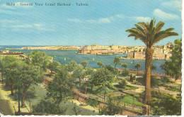 MAL002 - Malta - General View Grand Harbour - Valletta - Malte