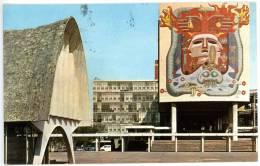Meico. D.F., Ciudad Universitaria, The University City, 30.3.1971 - Mexiko