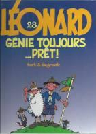 "LEONARD  "" GENIE TOUJOURS ...PRET !  ""  -  TURK / DE GROOT - E.O.  NOVEMBRE 1998  APPRO - Léonard"