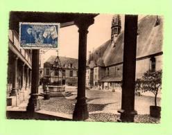 Carte  Yvert  583  NICOLAS ROLLIN  & GUI GONE De SALINS  -  21 Juillet 43  BEAUNE, Cour - Cartes-Maximum