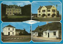 44 SAINT  LYPHARD    4  VUES  CHATEAU DE KERVY- LA POSTE- LA MAIRIE - MAISON A TOIT DE CHAUME - Saint-Lyphard