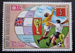 Briefmarke Rep.de Guinea Fußball WM Munich 74 - Coppa Del Mondo