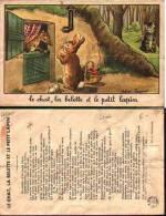 Le Chat, La Belette Et Le Petit Lapin (de La Fontaine) - Calvet-rogniat (état) - Fairy Tales, Popular Stories & Legends