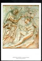 H1042 Bologna, Portale San Petronio -  Jacopo Della Quercia: La Creazione Di Adamo - Sculptures, Skulpturen - Bologna
