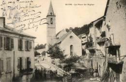 SEYNE (04) Place De L'église Petite Animation - Unclassified