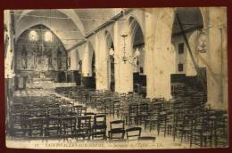 Cpa  Du 80 Saint Valéru Sur Somme  Intérieur De L' église    CAR5 - Saint Valery Sur Somme