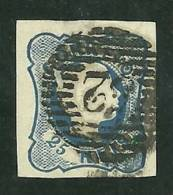 Portugal #11 D.Pedro 25r Used - L397 - 1855-1858 : D.Pedro V